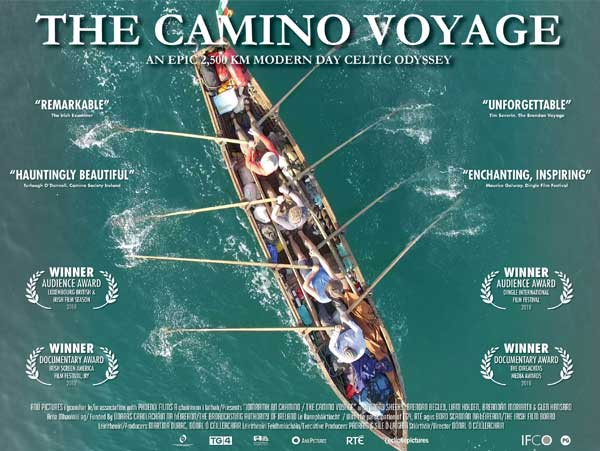 Camino Voyage documentary awards poster