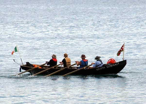 Rowing the Camino Voyage by sea